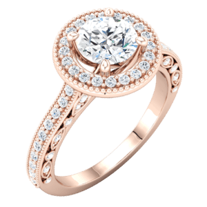 Custom Vintage Engagement Rings
