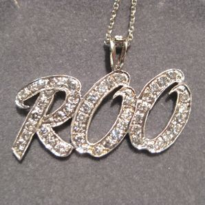 Customized Name Pendants