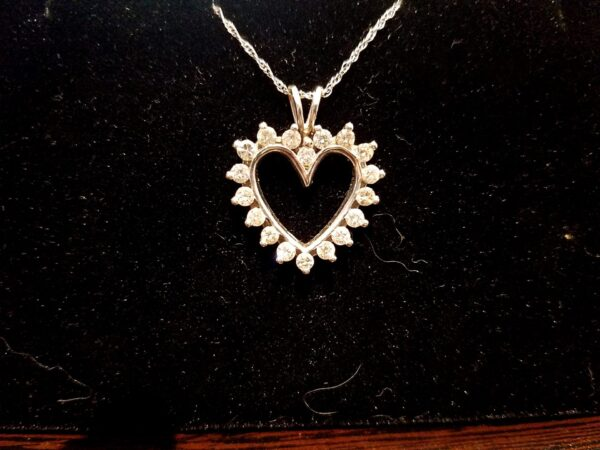 Heart Pendant  - 1 TCW - $700