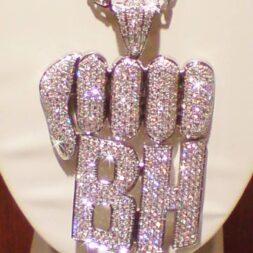 Diamond Hip Hop Necklace