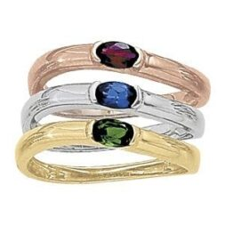 Contoured Stackable Rings
