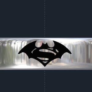 Superman & Batman Wedding Ring