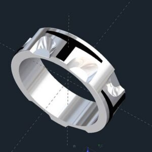 Boba Fett Bounty Hunter Wedding Band