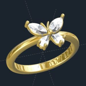 Butterfly Me Away Ring