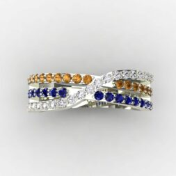 3 Row Mothers Ring