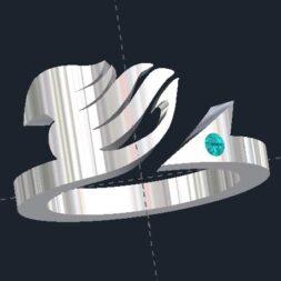 Japanese Manga Fairy Tail Ring
