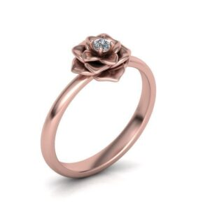 Rose Promise Or Engagement Ring