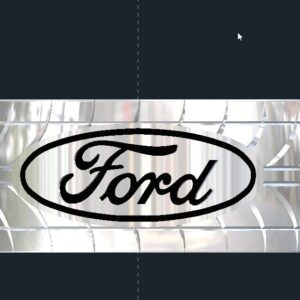 Ford Tire Tread Wedding Ring