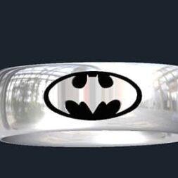 Batman Wedding Rings