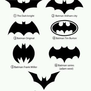 Men's Dark Knight Batman Ring