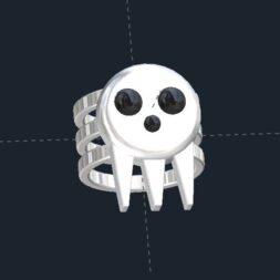 Punisher Skull Ring