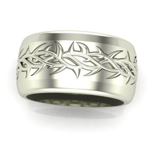 Crown of Thorns Wedding Band