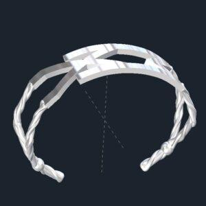 Celtic Rune Cuff Bracelet