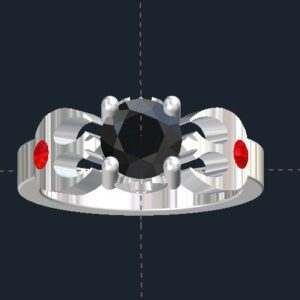 Star Wars Rebel Alliance & Jedi Order Engagement Ring