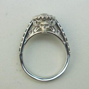 Smokin' Skull Halo Ring
